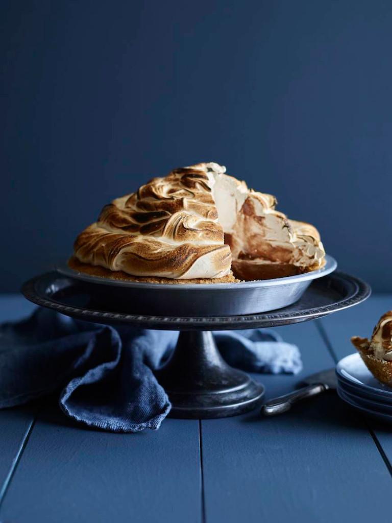 smore pudding pie