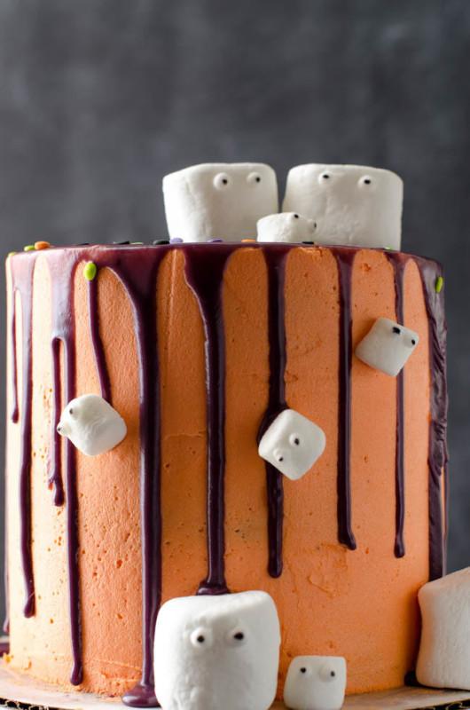 halloween desserts marshmallow madness cake