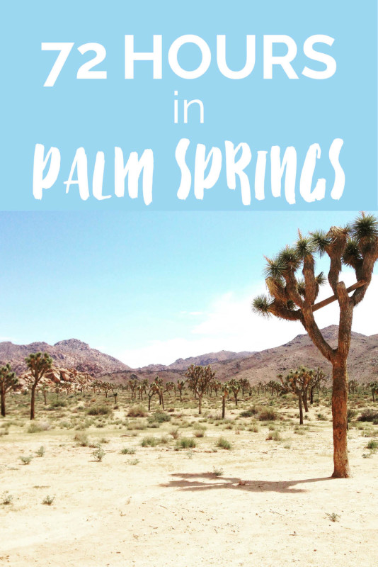 72 Hours in Palm Springs