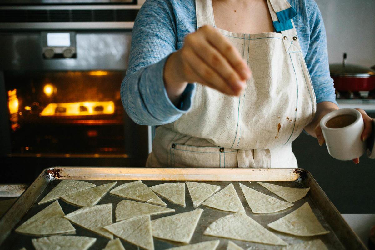 homemade fresh tortillas