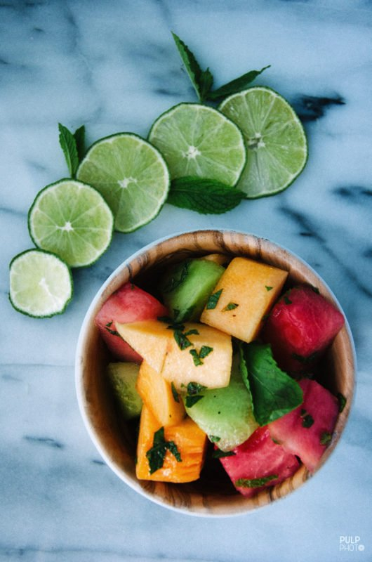 Spicy Cucumber Melon Salad   A Life Well Consumed   A ...