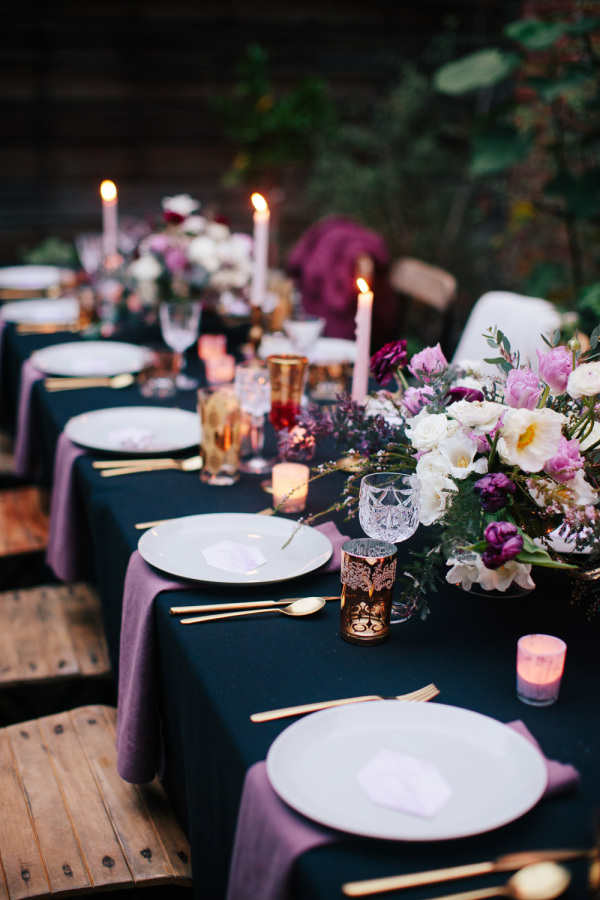 table-settings-dinner-party-decor-tips-holidays | A Life Well ...