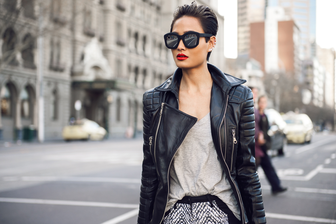 Leather jacket fashion - Leather Jacket Fashion 57