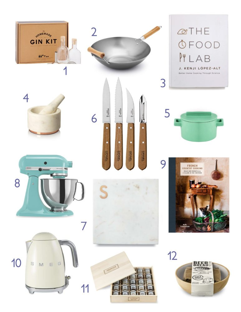 The 2016 Holiday Gift Guide for the Foodie is on the blog. From Smeg Electric Kettles, Jacobsen Salt Library and more!