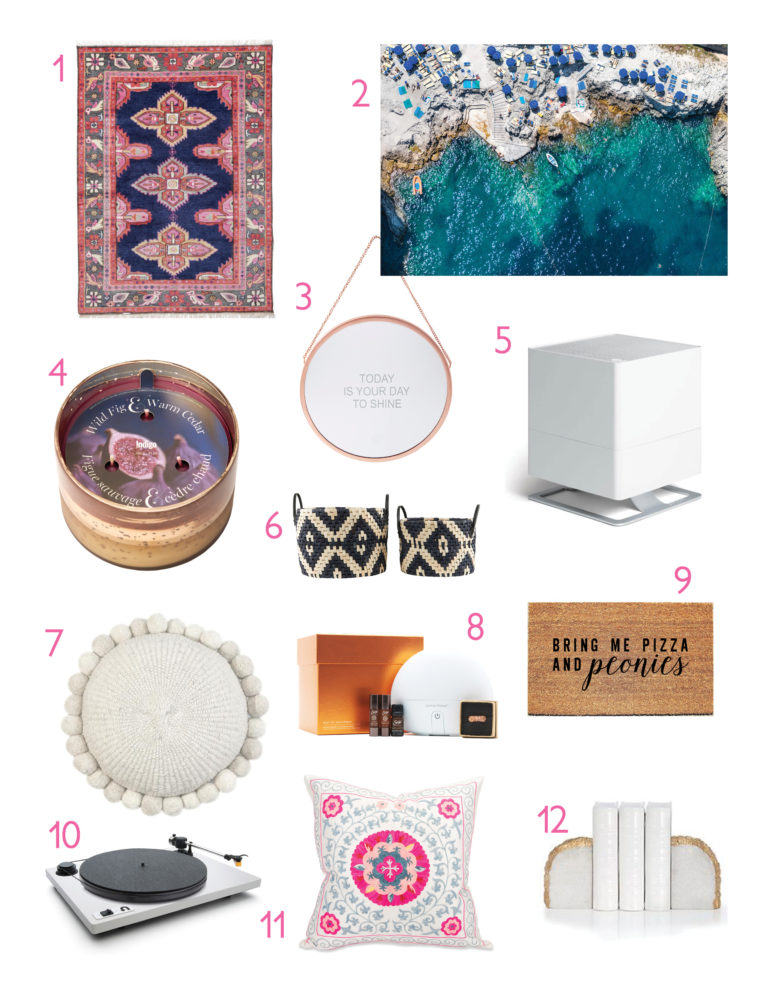 Holiday Gift Guide for the homebody 2016