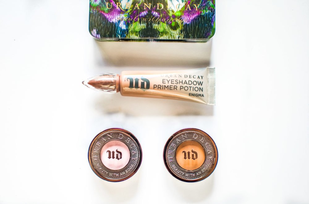 Glam it up with some great makeup products by Urban Decay. I love their Moondust shadows, eyeshadow primer & their new Moondust brush!