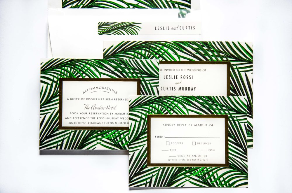 order your wedding invitations with minted tips a life well