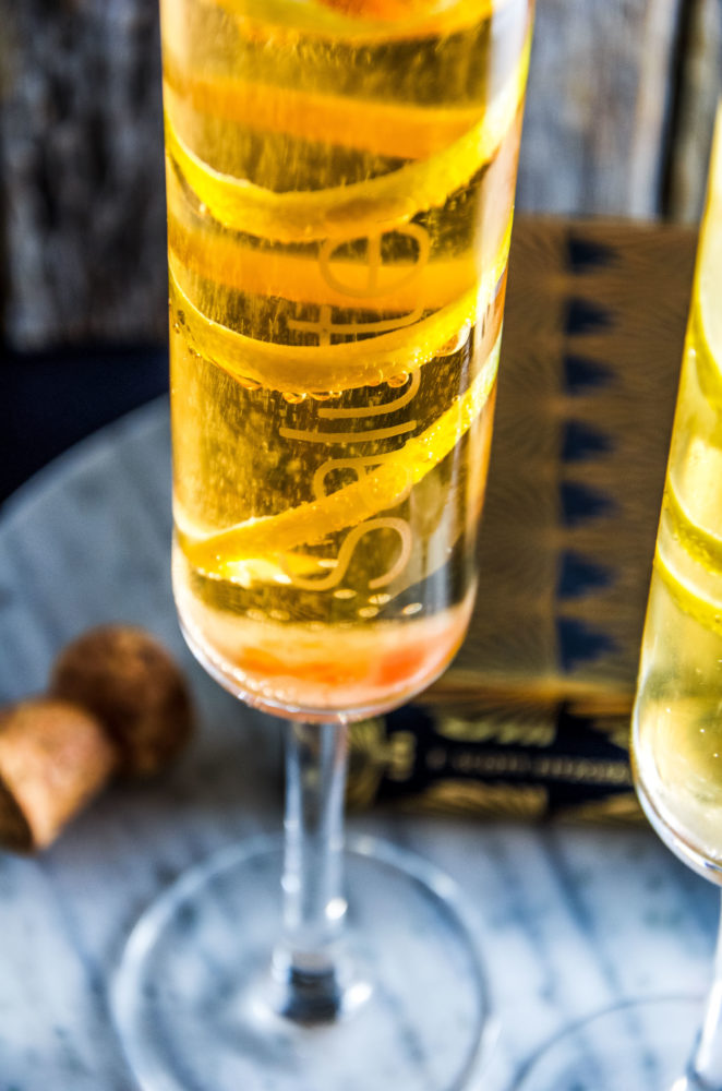 The recipe for the classic and simple champagne cocktail. A drink to be enjoyed on any occasion, weddings, celebrations, brunch and more!