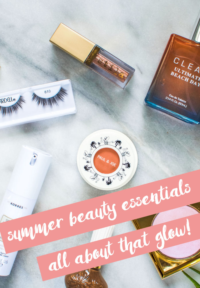 Find out my favourite summer beauty essentials I'll be using all summer long. Makeup and skincare included.