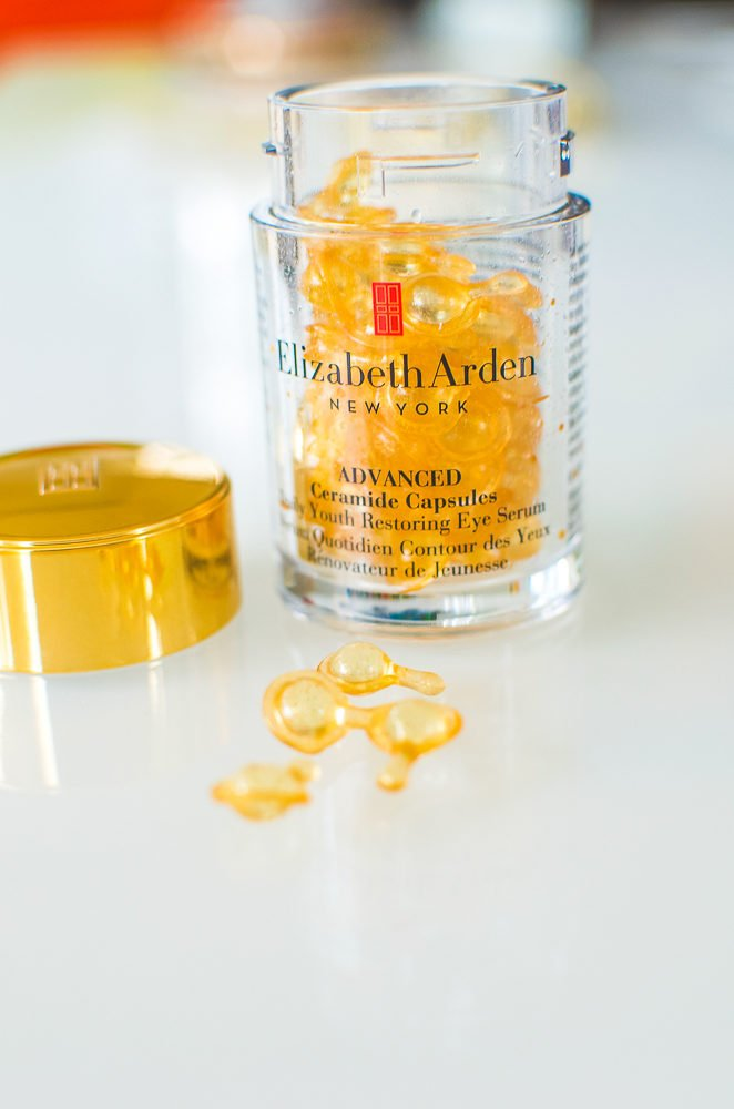 Elizabeth Arden Ceramide Capsules Daily Youth Restoring Eye Serum | Monthly Beauty Buys | A Life Well Consumed