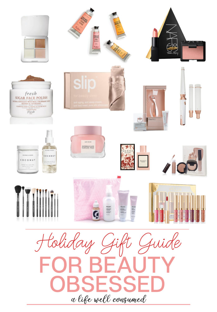 Holiday Gift Guide 2017: Beauty Obsessed