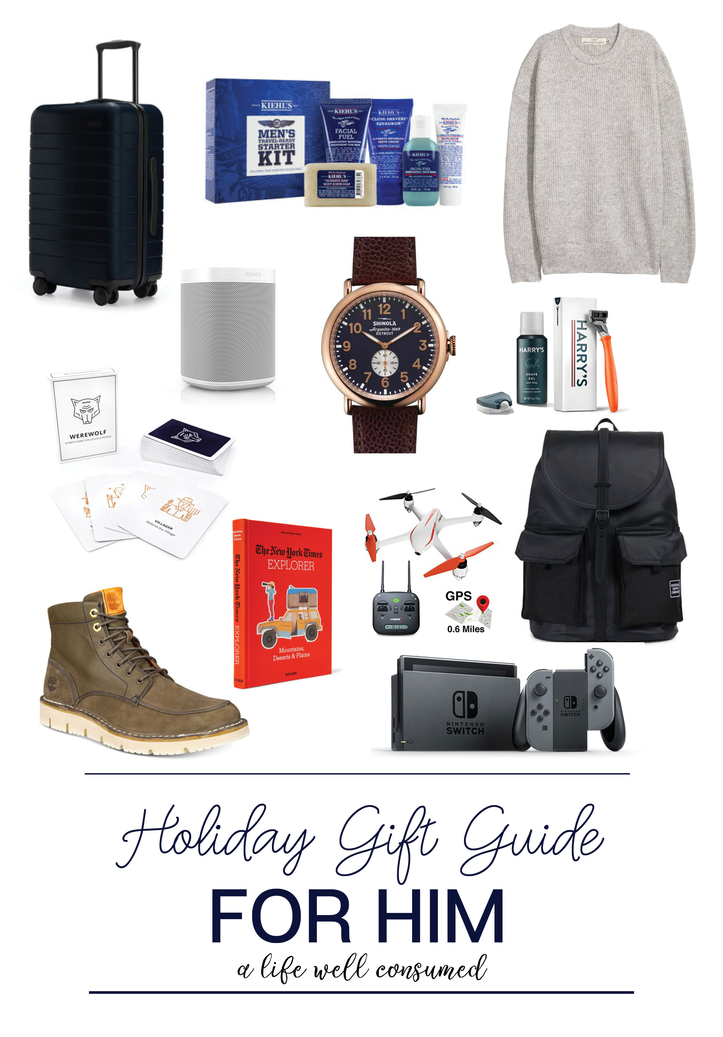 Holiday Gift Guide 2017 For Him