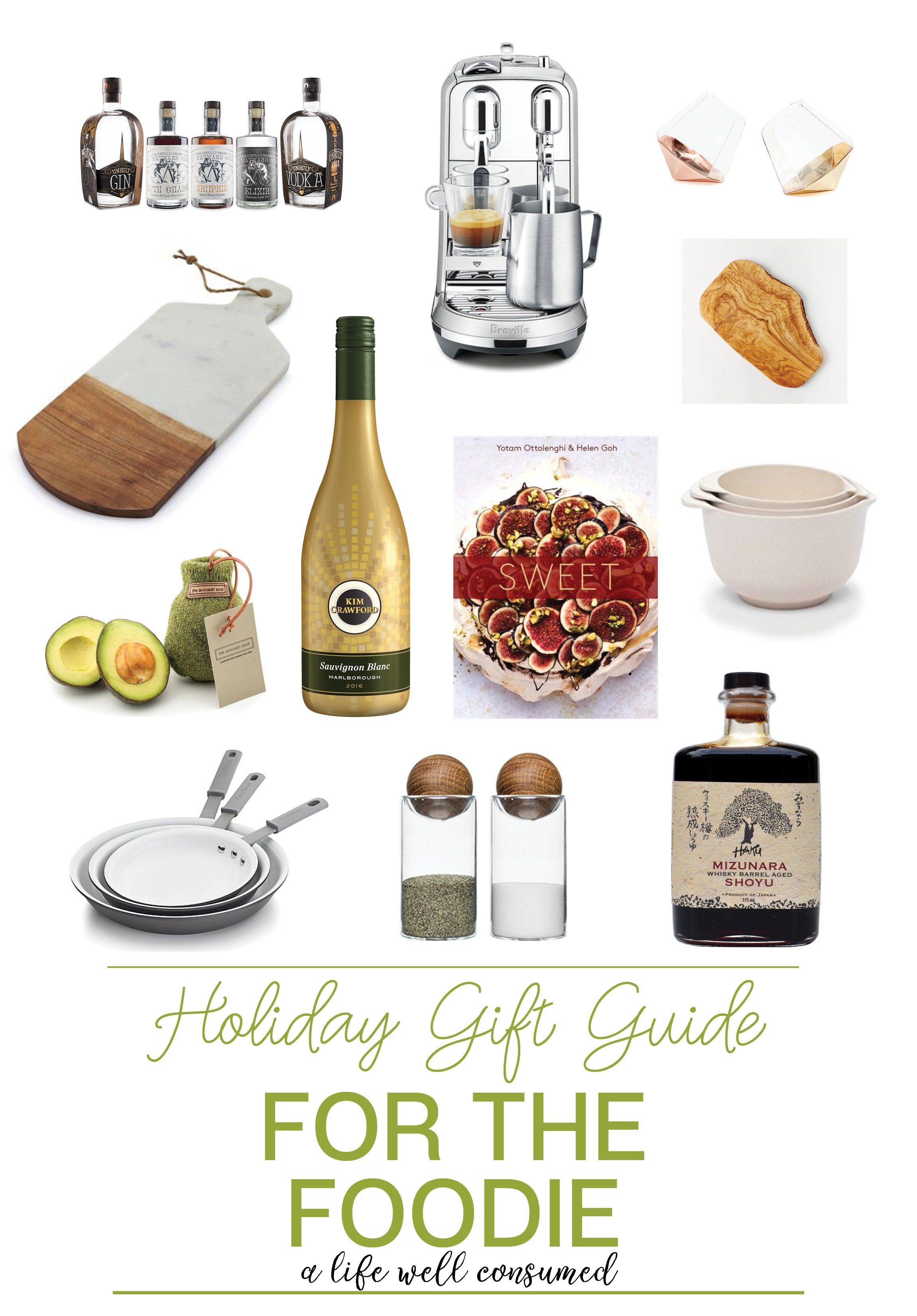 Holiday Gift Guide 2017 For the Foodie