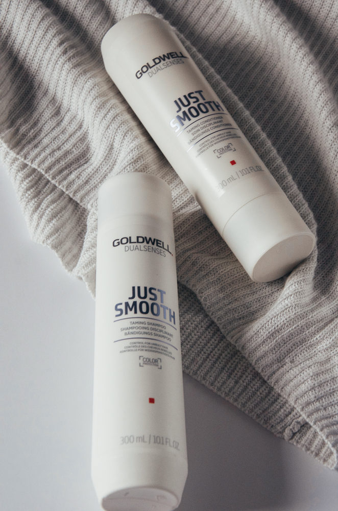 Goldwell Hair Just Smooth Shampoo and Conditioner